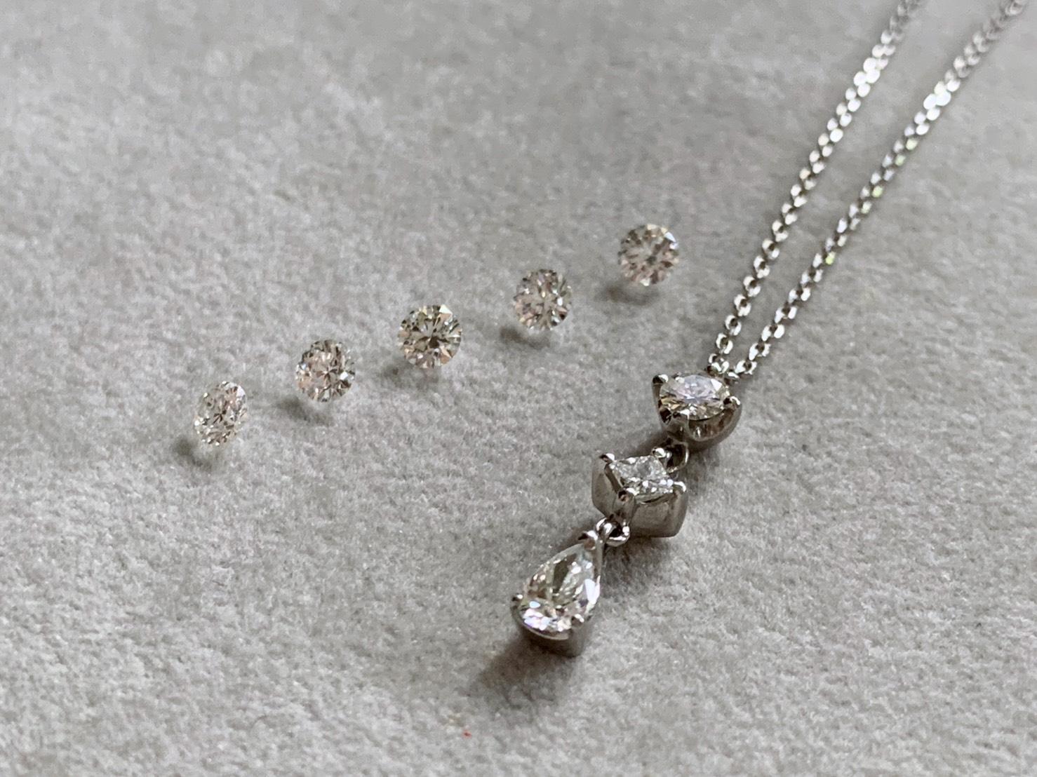 結婚記念日のダイアモンド